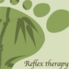 Reflexology advertisement created for adertising design course